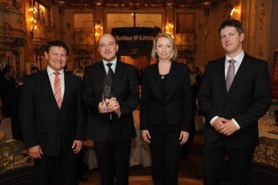 zleva: Dean Brabec, Jiří Postolka, Hana Strnadová, Thomas Merker