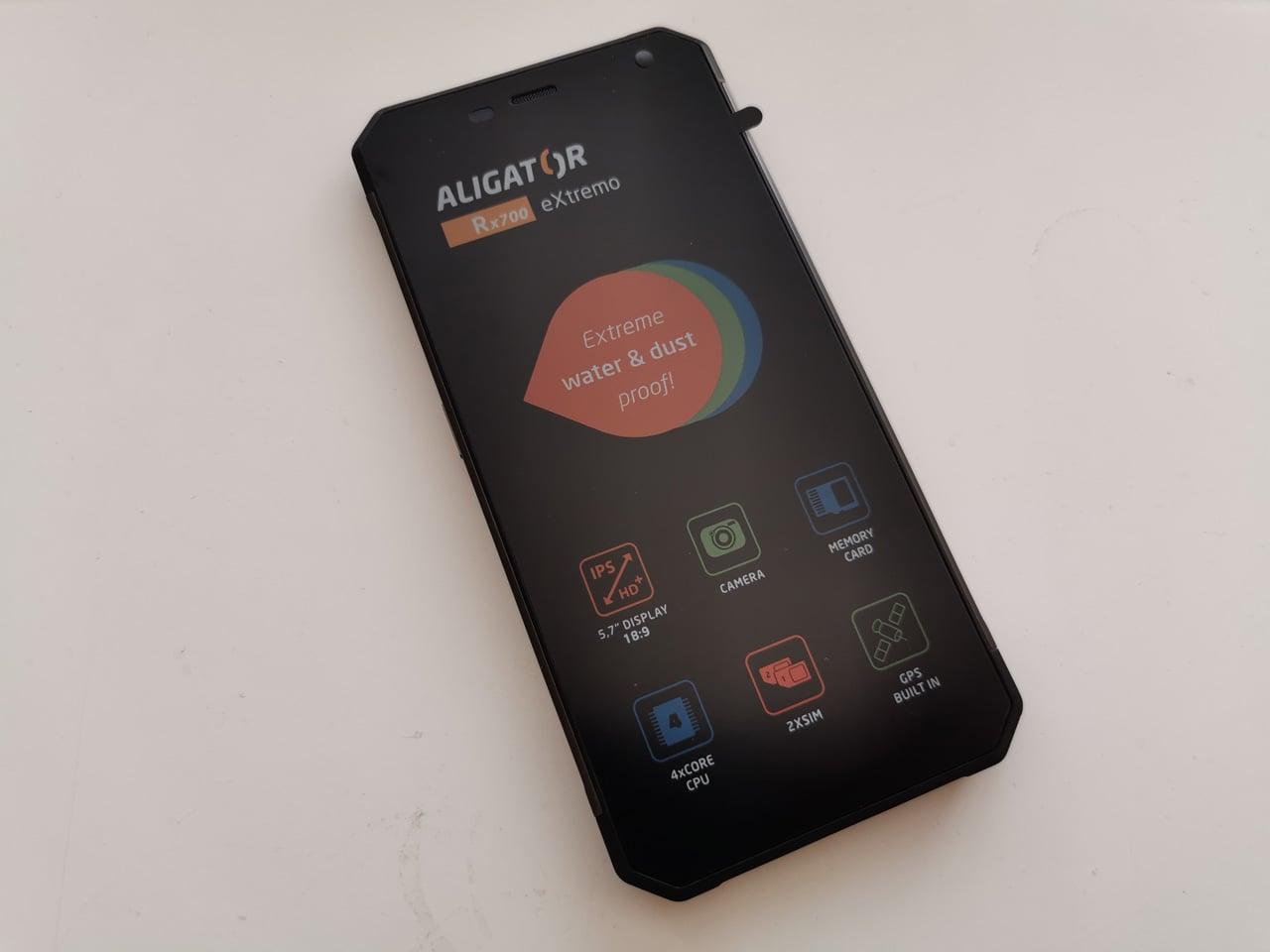 Český smartphone Aligator RX700 eXtremo