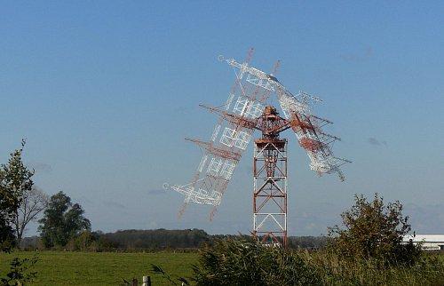 Vysílač Nauen stojící nedaleko Berlína