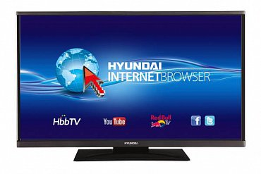 """Hyundai DLF 39285 Smart – 8.890 Kč a 99 cm (39""""). Televizory této značky by po nedávné aktualizaci firmwaru neměly mít podle zpráv ze zastoupení s upraveným HbbTV České televize problém. Týká se to rovněž Gogenu."""