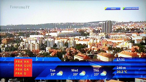 Počasí v různých městech, které nás zajímá s výhledem na další dny včetně on-line z kamerových systémů si navolíte podle potřeby.