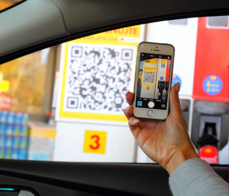 MasterPass, Shell, platba mobilem, tankování