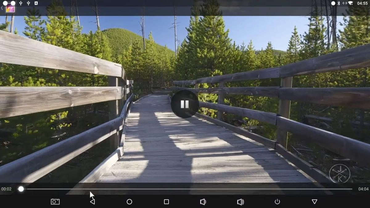 Alfawise H96 Mini - Ukázky přehrávání videosouborů 2/2