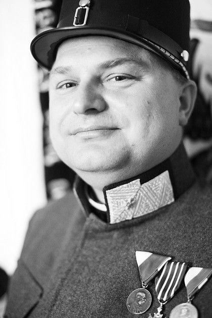 Vít Vlnas v uniformě rakousko-uherského důstojníka