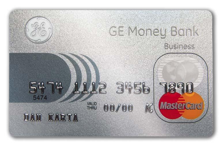 Platební karta GE Money Bank