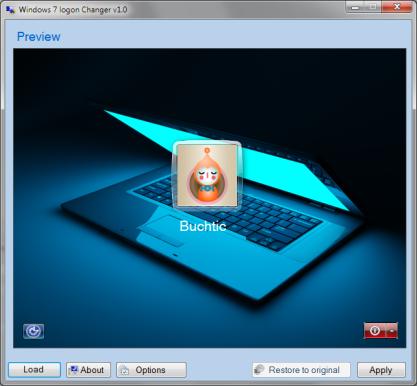 Pomocí Windows 7 Logon Changer si změníte uvítací obrazovku