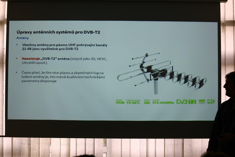 Jakub Melín na semináři Digital Broadcasting