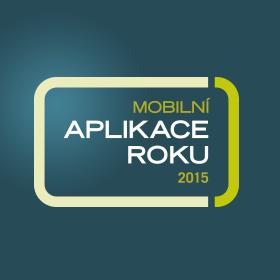 Logo Mobilní aplikace roku 2015