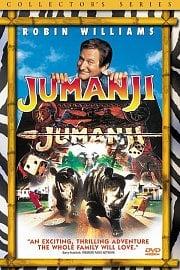 Robin Wiliams ve filmu Jumanji.