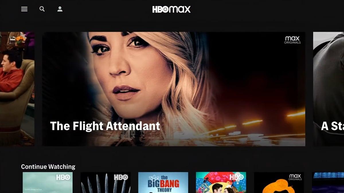 Uživatelské prostředí a nabídka HBO Max