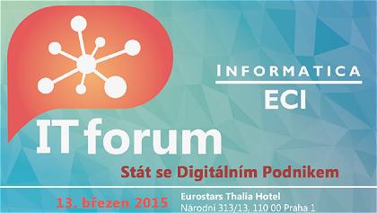Konference - IT Forum - Informatica ECI