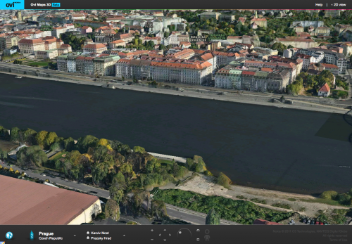 Ovi Mapy Nokia - Rašínovo nábřeží