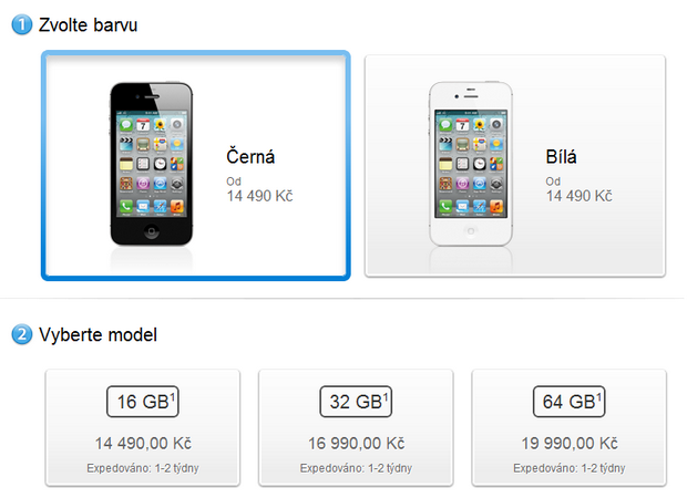 Cena Apple Store