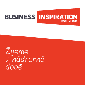 Logo Business Inspiration Forum 2013 - Žijeme v nádherné době