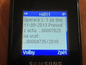 Na nové číslo obratem chodily autorizační SMS
