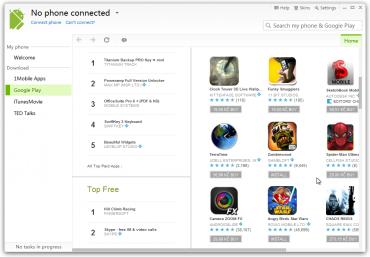 SnapPea je ideálním nástrojem pro správu telefonu se systémem Android