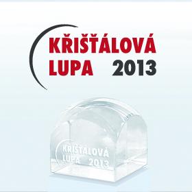 Logo Křišťálová Lupa 2013