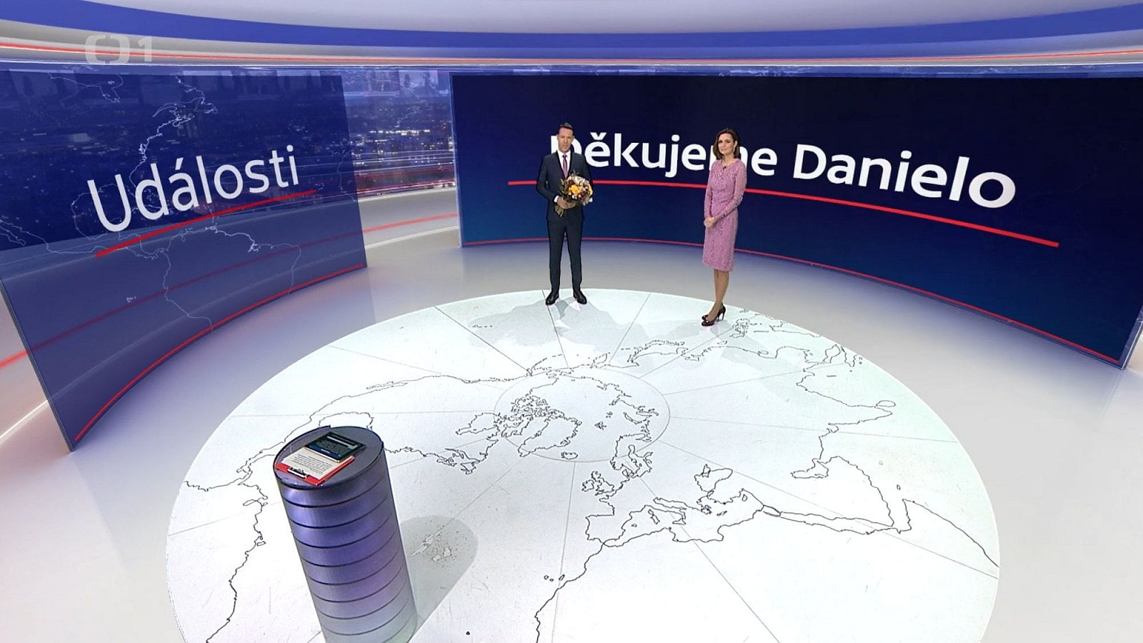 Rozloučení Daniely Písařovicové s Českou televizí