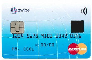 Biometrická karta s parametry klasické platební karty