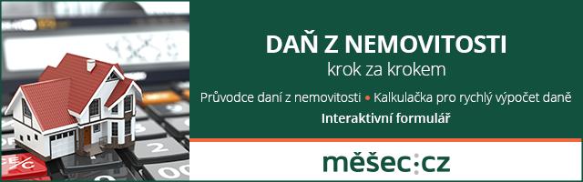 Daň z nemovitosti tip Měšec.cz