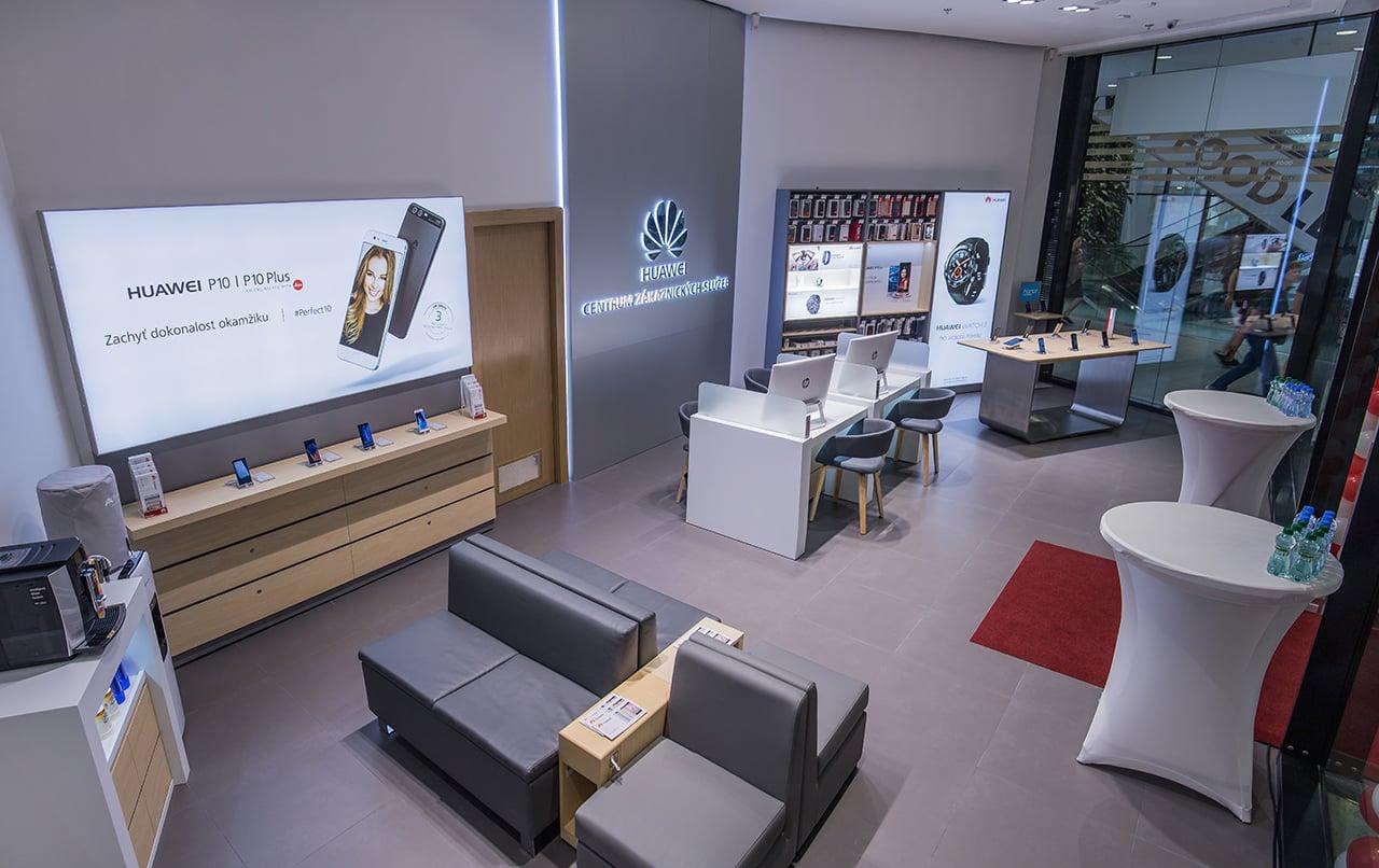 První prodejna Huawei v Česku