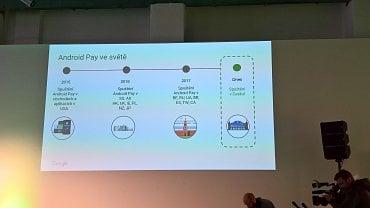 Android Pay je v Česku dva roky od svého vzniku.