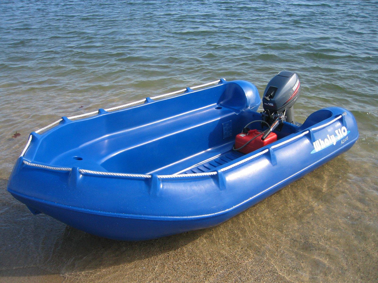 Příklady člunů do 10 kW