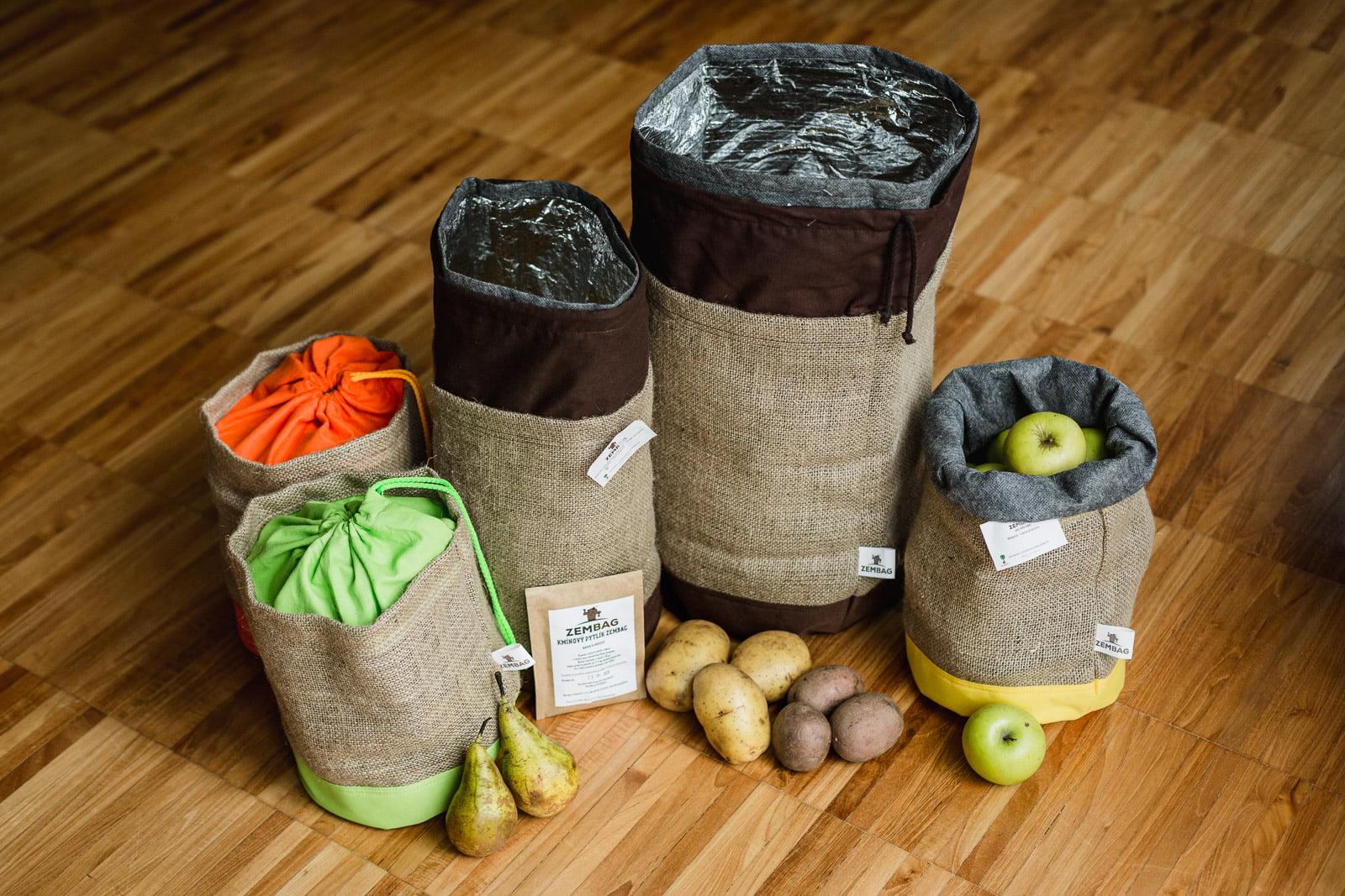 Pytle na zeleninu a ovoce