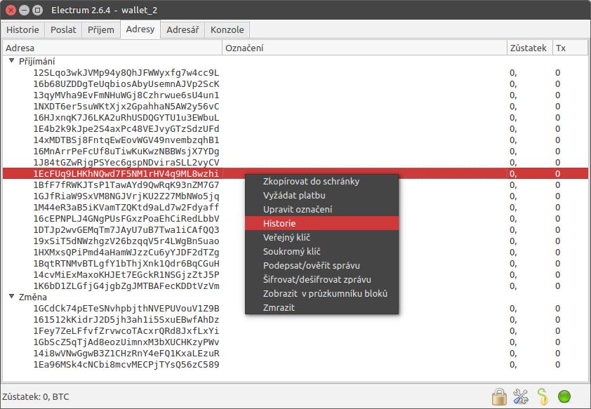 Electrum - Desktop - Windows - Alege portofelul tău - Bitcoin