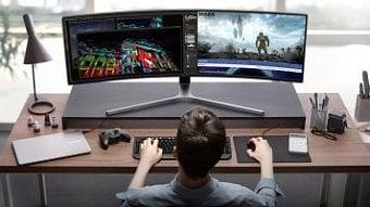 DigiZone.cz: Samsung: obří herní monitor řady QLED