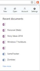 Pomocí rozšíření Office Online pro Google Chrome můžete velmi jednoduše přistupovat ke svým dokumentům Office