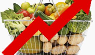Potraviny u nás zdražují rychleji než v EU. To se hned tak nezmění