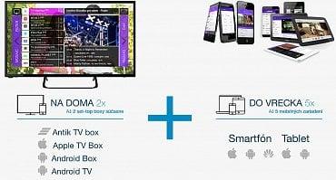 Možnosti sledování TV přes internet
