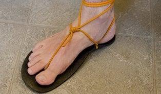 Barefootové sandály nejsou pro každého
