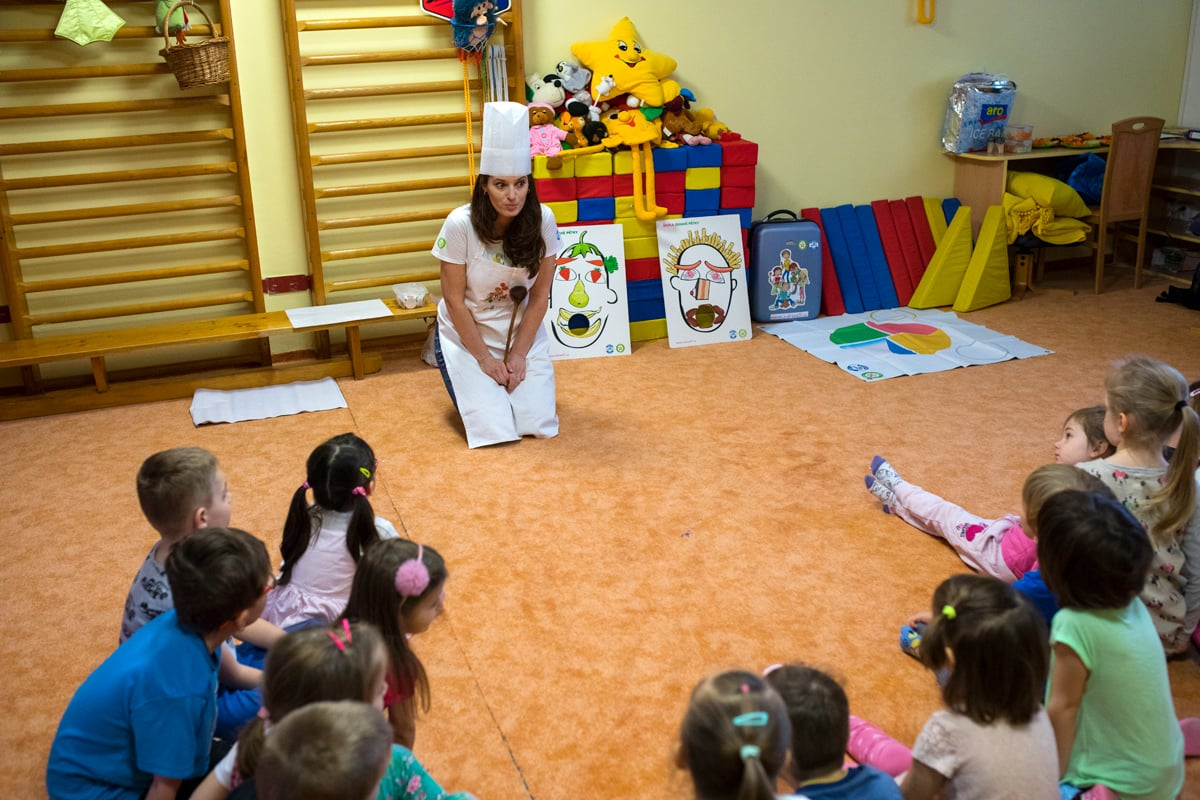 Zdravá 5 učí děti zdravě jíst