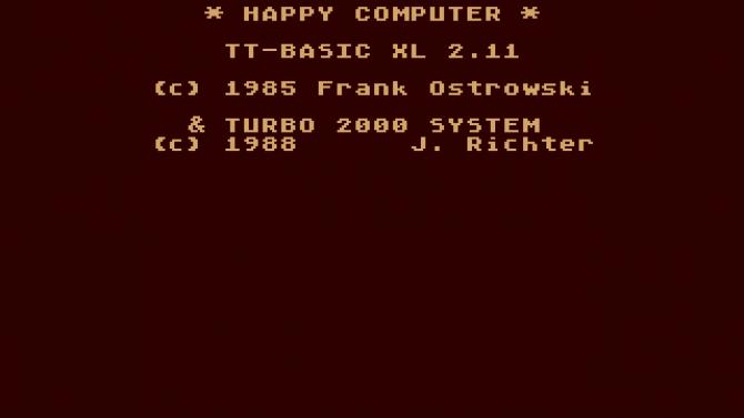Programovací jazyky používané na platformě osmibitových domácích mikropočítačů Atari (2)
