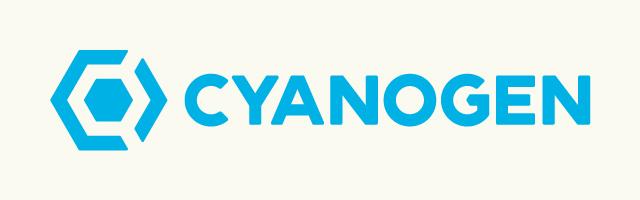 Nové logo společnosti Cyanogen