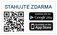 Aplikaci stáhnete na Google Play a App Store