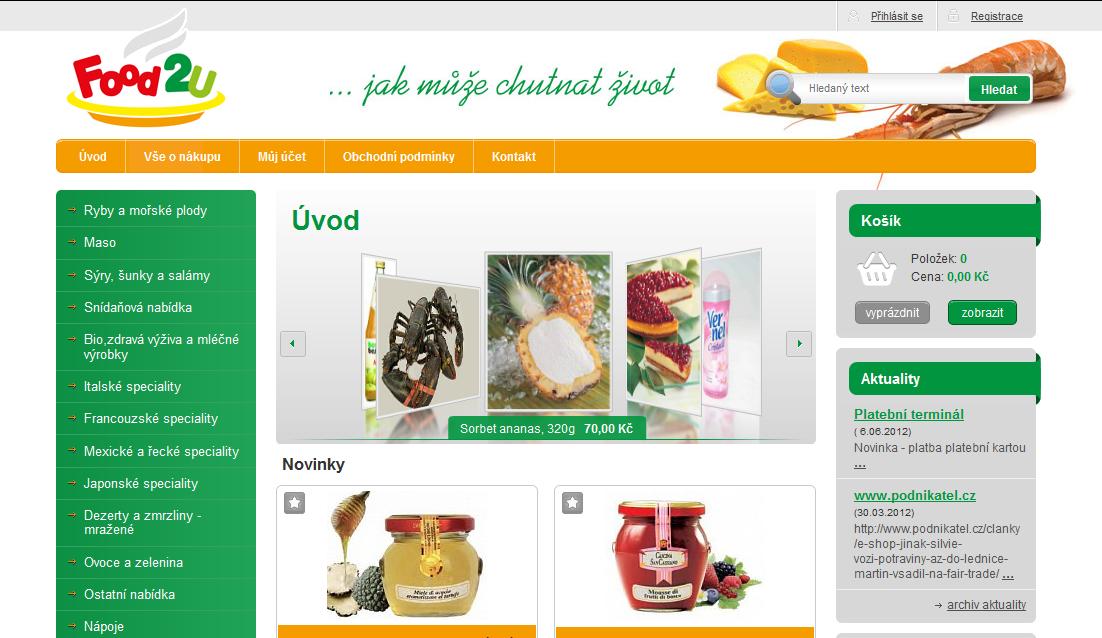 E-shopy s potravinami
