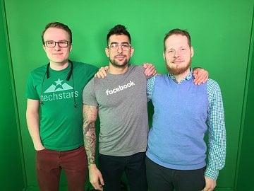 Tým LIV. Zleva: Steffan Donal, AJ Shewki, Jaroslav Stehlík