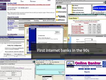 Internetová bankovnictví tradičních bank jsou děsně nudná.