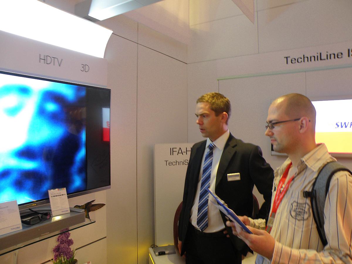 Prezentace TechniSatu na veletrhu IFA