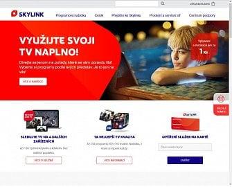 """Služba Skylink Live TV je na hlavní stránce satelitního operátora hodně nenápadná. Jeho internetová televize by si určitě zasloužila víc nemluvě o tom, že si M7 Group neregistrovala ani doménu """"skylinklivetv.cz"""" či """"skylinklive.cz""""."""