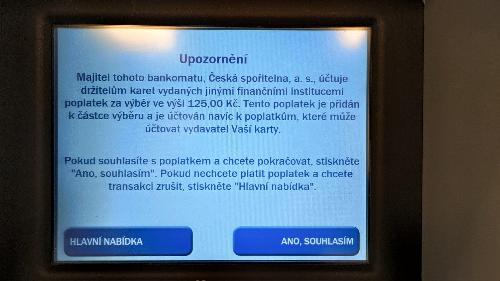 Bankomat a DCC