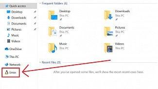 Linux explorer soubory