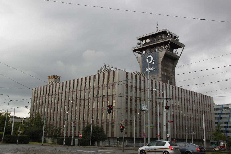Praha - Olšanská - vysílač multiplexu 4