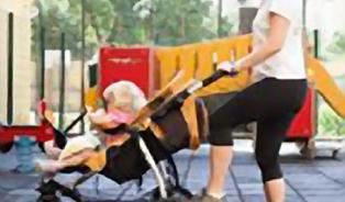 Cvičit jde i s brzdou na kočárku