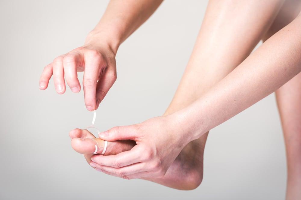 Gelové náplasti na prsty