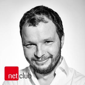 Logo NetClub s Markem Prchalem