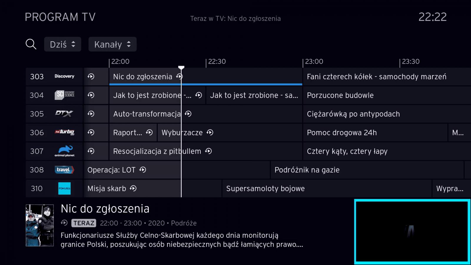 Platforma Horizon 4 v polské lokalizaci